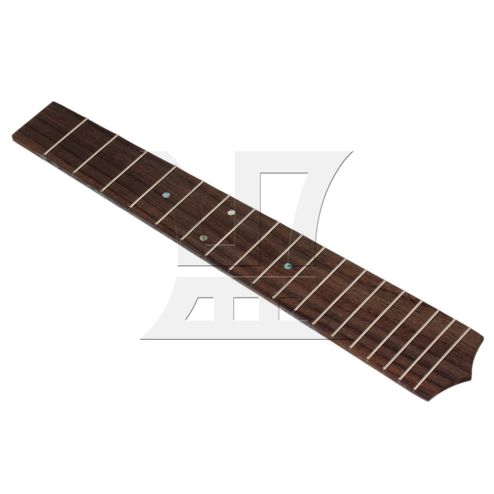Yibuy Indonesia Rosewood Ukulele Fretboard Fingerboard With 18 Frets For 26 Tenor Scale Ukulele neck and fretboard fingerboard for 26 inch tenor ukulele hawaii guitar parts maple and rosewood 18 fret