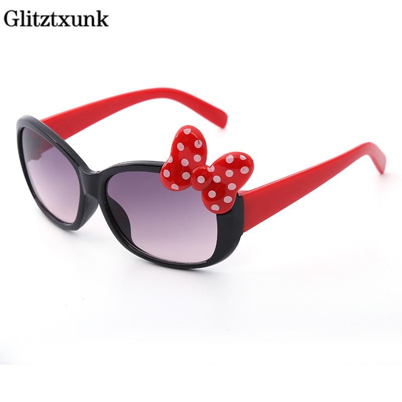 Glitztxunk 2018 Fashion Cat Eye Kinder Sonnenbrille Für Jungen Mädchen Baby Sonnenbrillen Kinder Sport Im Freien Schatten Brillen Uv400 Verkaufspreis