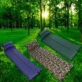 Ultraleve Dampproof Almofada de Dormir Ao Ar Livre Caminhadas Camping Piquenique Dobrável Automático Inflado Colchão com pillow Camping Cama de Ar
