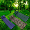 Ultralight Dampproof Sleeping Pad Outdoor Hiking Camping Picnic Foldable Automatic Inflated Air Mattress with pillow Camping Bed
