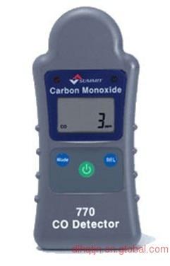 South Korea SUMMIT-770 carbon monoxide detector single gas high-precision digital automatic range petzl summit 66cm