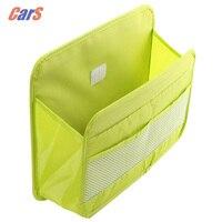 Car Backseat Organizer Multifunctional Seat Back Storage Organizer Pocket Adjustable Bag for Car maps/ magazines