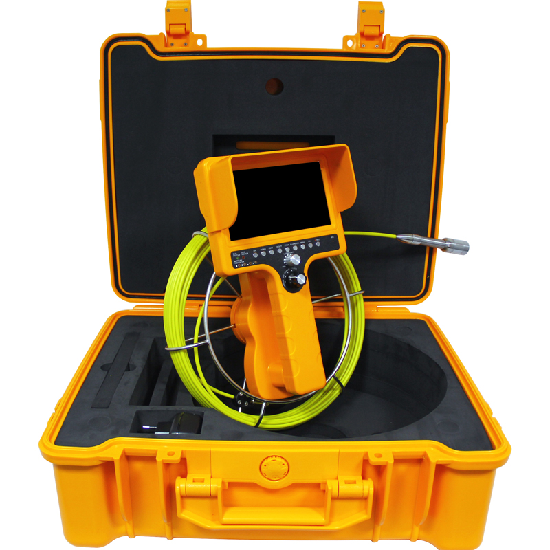 30m DVR waterproof Drain Sewer Inspection Video Camera meter counte Industrial video Endoscope camera Pipe video camera DHL ship dhl free wp90 50m industrial pipeline endoscope 6 5 17 23mm snake video camera 9 lcd sewer drain pipe inspection camera system