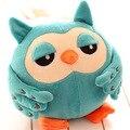 Горячие продажи Прекрасный творческий 45 см сова плюшевые игрушки животных рук подушку, руки теплые плюшевые игрушки творческий подарок на день рождения девочки 1 шт.