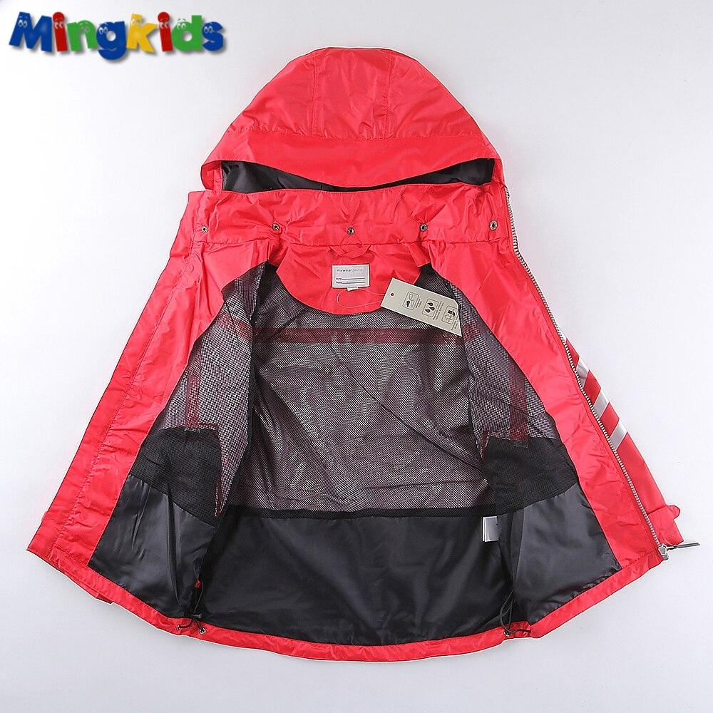 1bd422c6a Mingkids High quality windbreaker jacket for boys waterproof outdoor ...