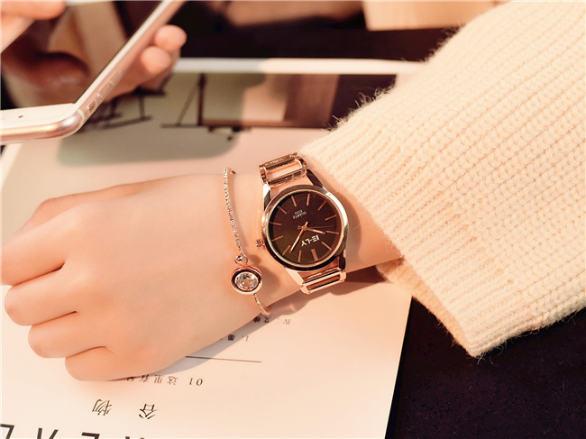 Women Luxury Bracelet Watch Fashion Brand Rose Gold Quartz WristWatches Ladies Dress Sport Watch Clock Relogio Masculino 1