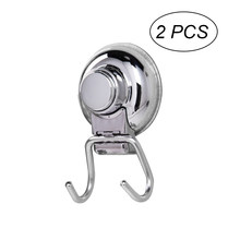 2pcs Swivel Hook Folding Swing Arm Hook Stainless Steel Wall-mounted Hanger for Bathroom Kitchen Bedroom (Metallic)(China)