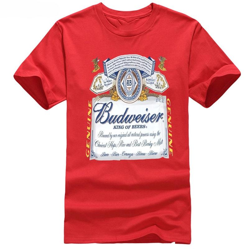 Budweiser beer tshirt.