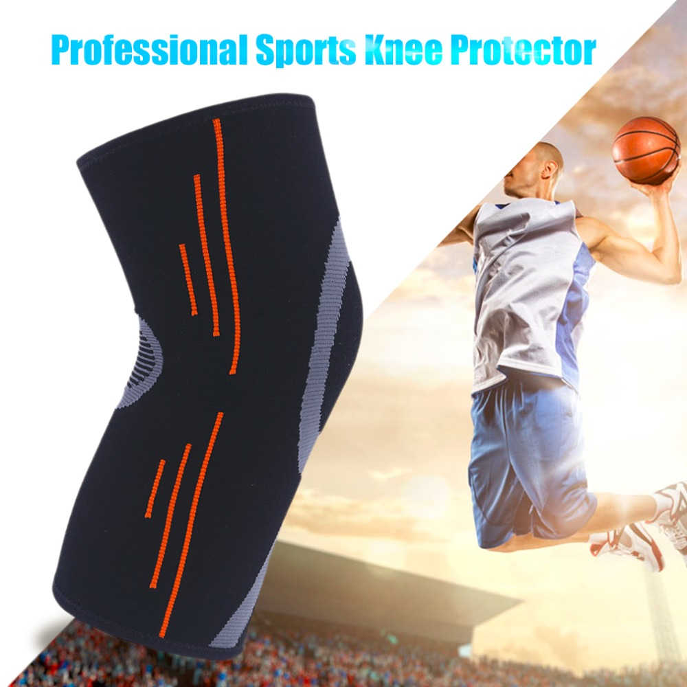Practical Elastic Sports Leg Knee Support Brace Wrap Protection Knee Pads Kneepads Sleeve Cap Guard Knee Pads Tight Protector