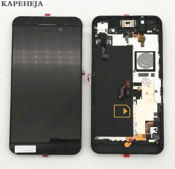 4.2 For BlackBerry Z10 4G version LCD Display Touch Screen Digitizer Assembly with Bezel Frame 14led lcd display touch screen assembly with bezel for lenovo thinkpad 00hm039 00hm915