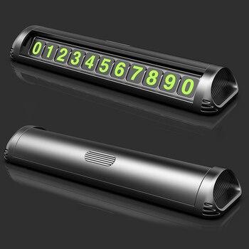 Номер телефона в автомобиле, табличка, Временный стоп-сигнал, табличка с номером телефона, скрытый переключатель