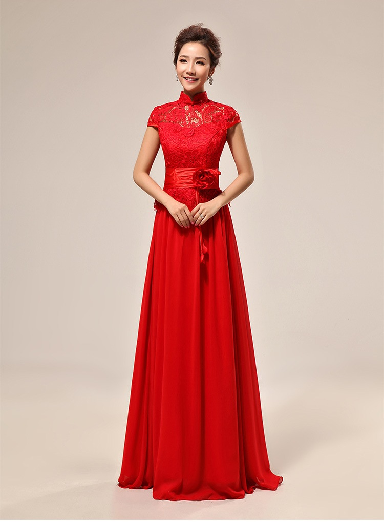 Popular chinese red wedding dress buy cheap chinese red for Where to buy red wedding dress