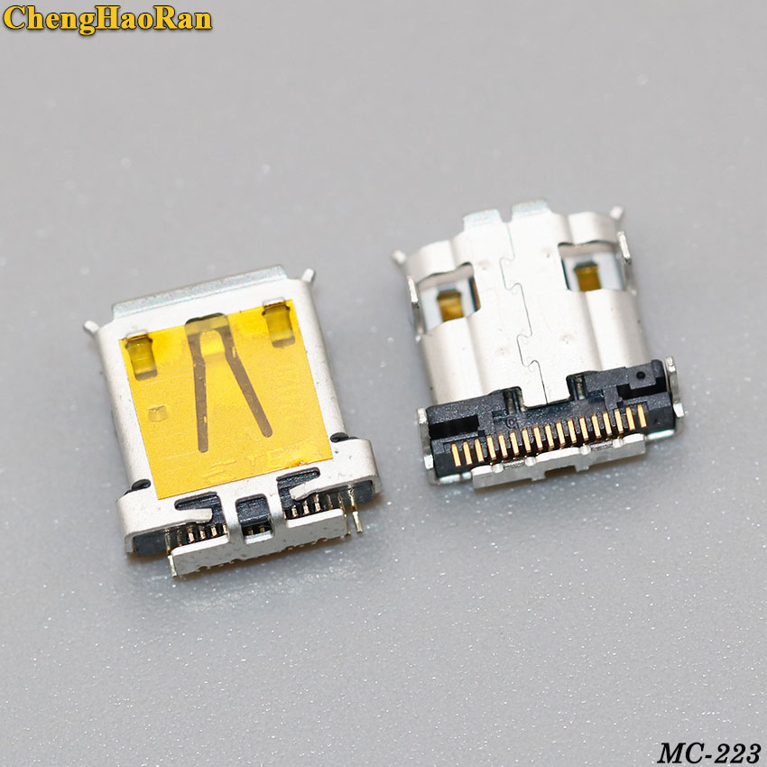 ChengHaoRan 1pcs Micro USB Jack Connector Charging Port Socket Fit For Acer Iconia Tab A700 A701 A510 New 17pin 17P