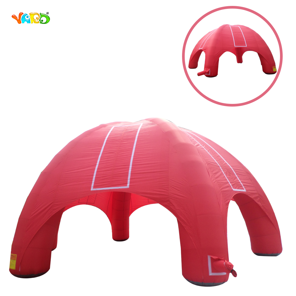 Cheap Giant Nylon Material Inflatable Outdoor Tent with Six Legs for Sale Cheap Giant Nylon Material Inflatable Outdoor Tent with Six Legs for Sale