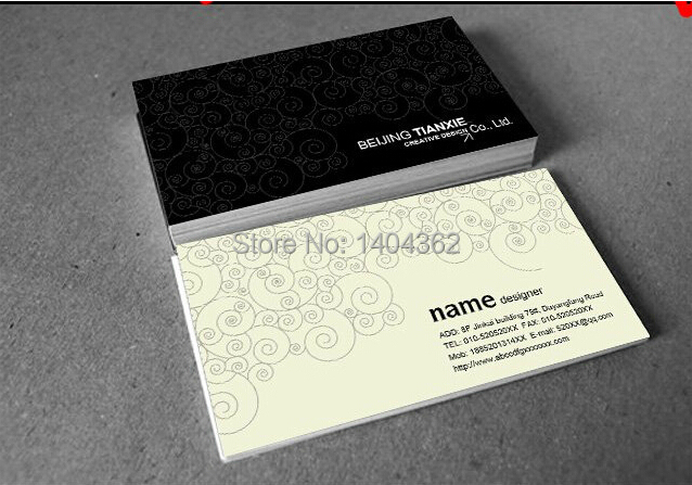 custom special paper Bussiness Card Printing great quality name  card visit  card 500 pcs/lot thermal cash register paper printing paper white 80mm
