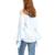 SEBOWEL 2016 Otoño Casual Light Blue Camiseta Mujeres de La Mariposa de Manga Larga de Moda Del Hombro de las señoras Tops Camisas Femininas 33