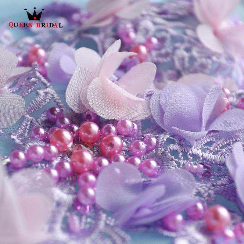 Reine Robe De soirée De mariée nouvelle mode 2018 Robe De bal Appliques perles moelleux longue luxe robes De soirée Robe De bal DR17 - 6