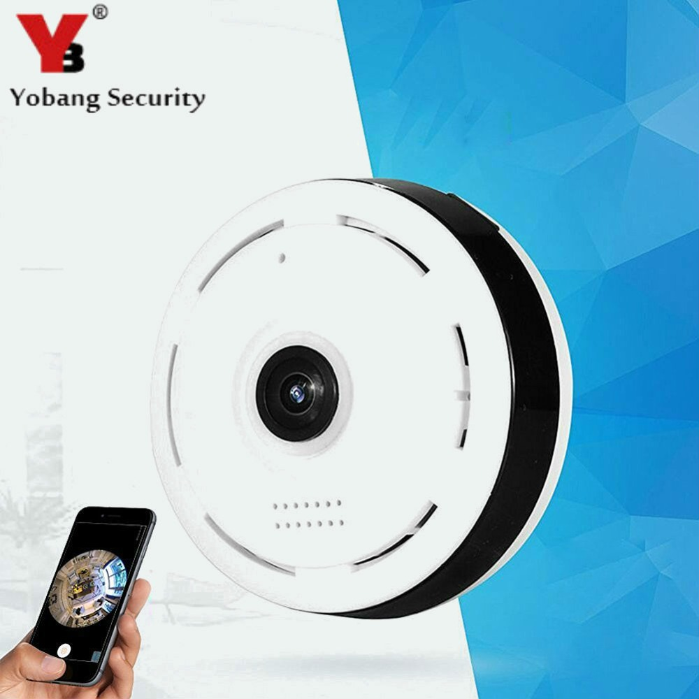 960P Wireless WiFi IP Security Camera 360 degree Mini Portable Indoor Camera with IR Night Vision 2-way Audio Motion Detector беспроводная акустика samsung wireless audio 360 mini wam6500