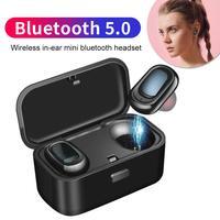 Спортивный дисплей мощности стерео беспроводной Bluetooth 5,0 наушники-вкладыши