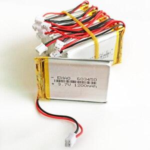 10pcs 3.7V 1200mAh Lithium Pol