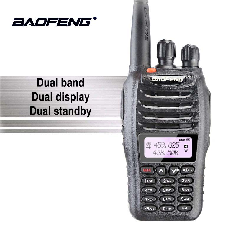 BaoFeng UV-B5 Talkie Walkie New Vente Chaude UV B5 Double Bande Vhf 136-174 mhz et Uhf 400- 470 mhz Petit Mini LCD Écran UVB5 Deux Way Radio