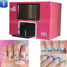 ФОТО latest model diy nail art printer machine mobil wireless transfer photo via bluetooth