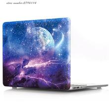 Цвет печати Жесткий Чехол для Apple MacBook Pro retina 13 15 Модные персональные Mac book Air 11 12 13,3 дюймов жесткий в виде ракушки