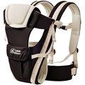 0-24 Meses Transpirable Multifuncional Frontal Frente a la Porta Bebé Sling Backpack Infantil Cómodo Bolsa Abrigo Del Bebé Canguro