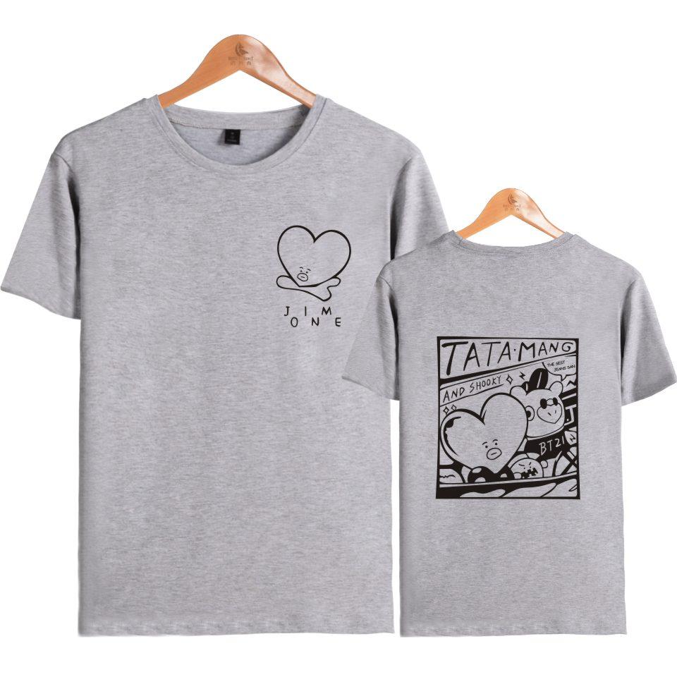 Bts Tata Mang T-Shirt 4 Models-3853