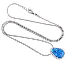 Glas Flower Urn Necklace