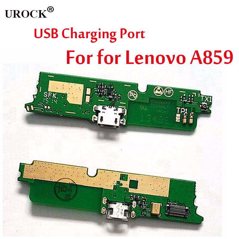 New Original Genuine USB Charge Board With Flex Cable & Microphone For Lenovo A859 Mobile Phone-in Mobile Phone Flex Cables From
