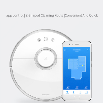Global Roborock Robot Vacuum Cleaner 2 s50 s55 for Xiaomi Mi Home APP Smart Wet Mopping Cleaning Dust Intelligent Path Planned