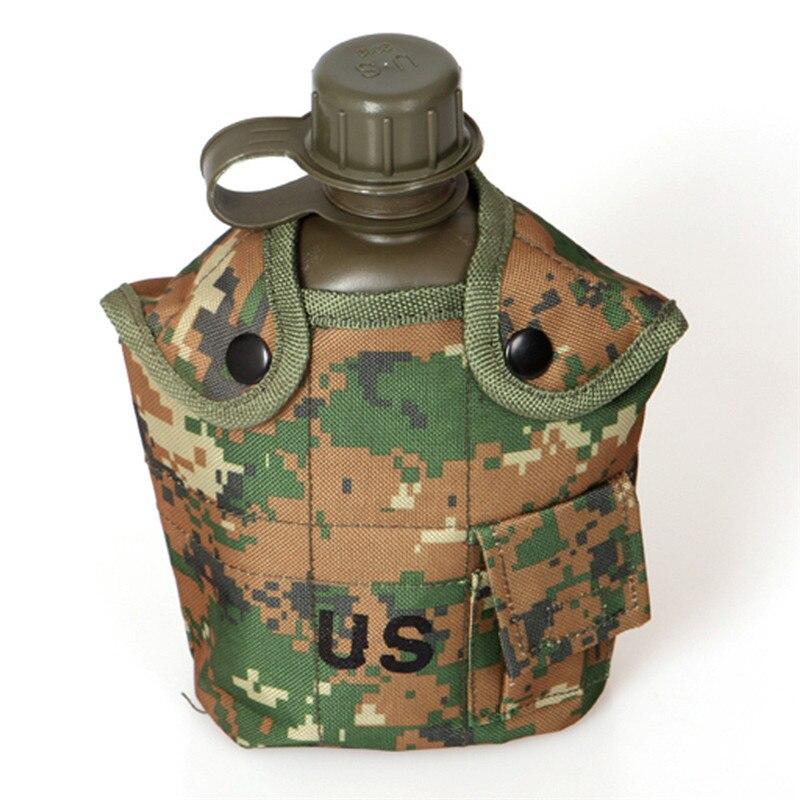 Snowshine3 #3001 1 Unid Botella de Agua Camuflaje EE.UU. Ejército Militar de Exc