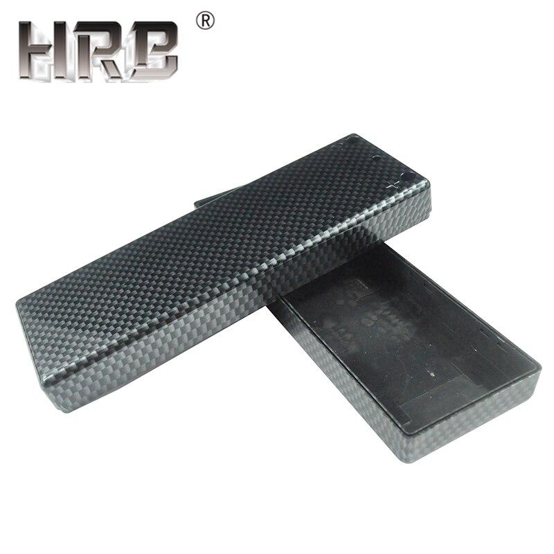 Carbon Fiber Hard Case Shealth Orange Banana Mirror Black Hardcase RC Lipo Battery Accessories Wrap 2S 3S 4S 5S 6S Protect Parts