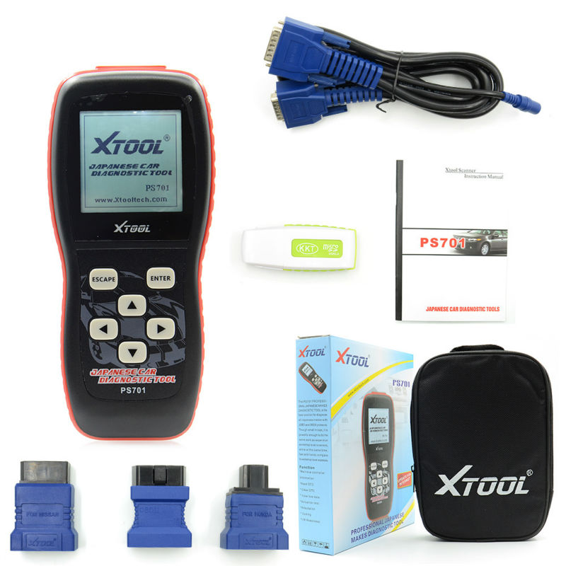 New Recommend Original Xtool PS701 JP Diagnostic Tool PS 701 OBD2 Diagnostic for Japanese Cars Scanner