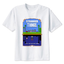Unisex High Quality Colorful Stranger Things Themed T-Shirt