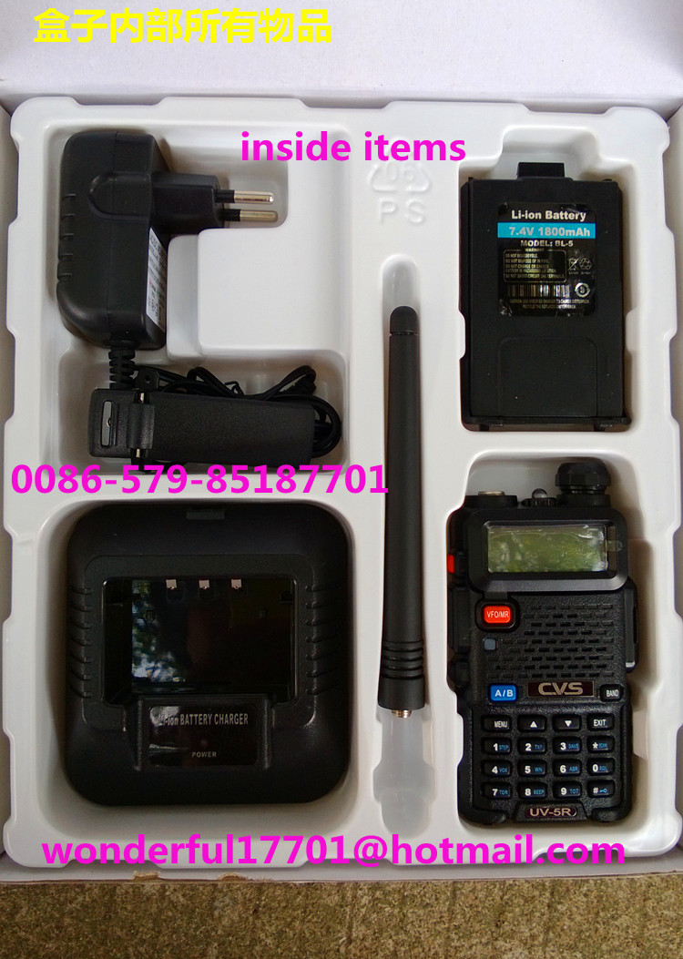 cvs uv5r walkie talkie vhf u0026uhf u0026 fm two way radio longdistance bigpower transceiver receiver dual