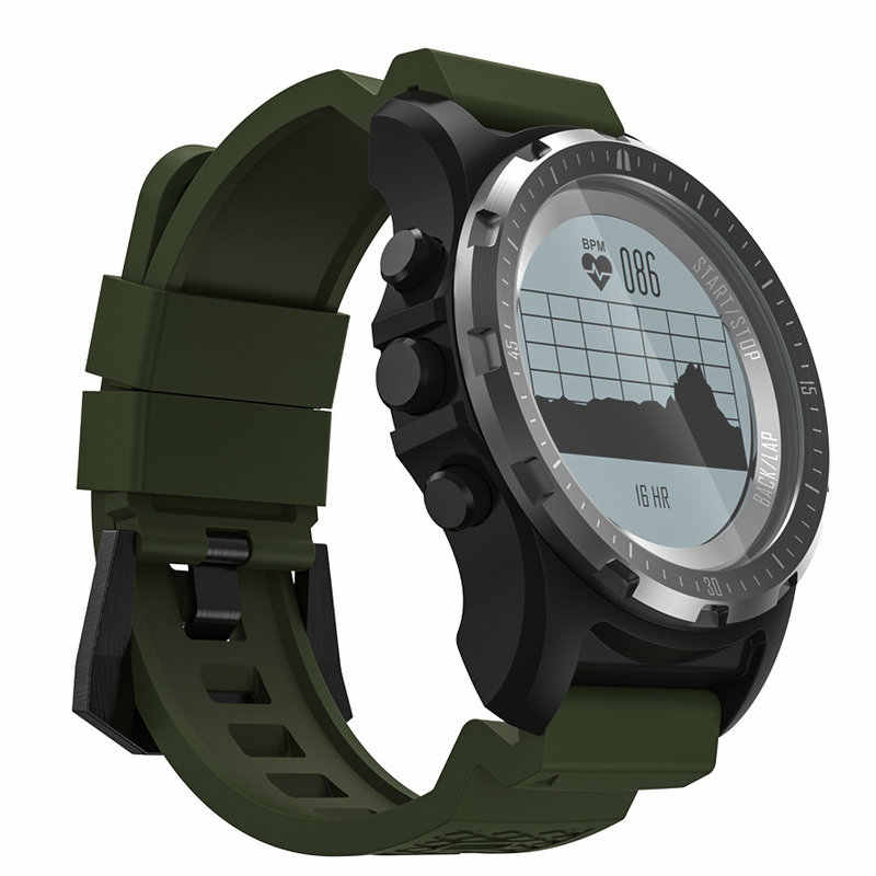 b36cbdc23 ... DoubleX S966 inteligente Reloj GPS impermeable rastreador de Fitness reloj  Monitor de ritmo cardíaco deporte reloj ...