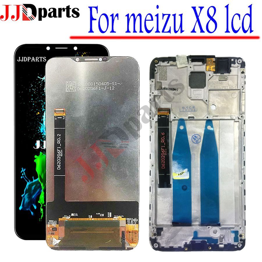 Original Tested LCD 6.2 For Meizu X8 LCD Display Touch Screen Digitizer Assembly Replacement Parts For Meizu X8 Display Screen Original Tested LCD 6.2 For Meizu X8 LCD Display Touch Screen Digitizer Assembly Replacement Parts For Meizu X8 Display Screen