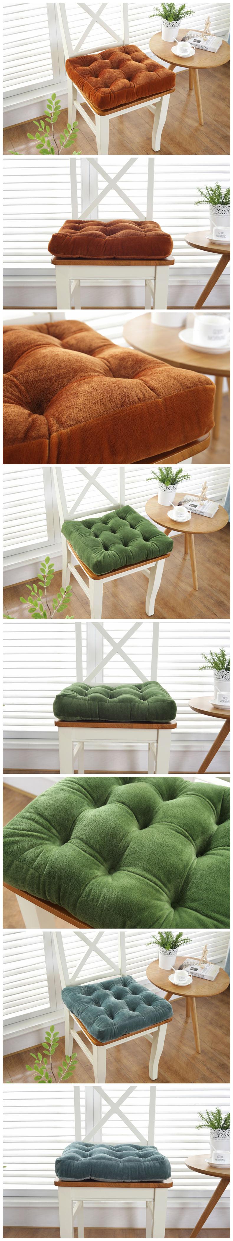HTB18.8QatfvK1RjSspfq6zzXFXaO Thickening Anti-skid Cotton Chair Cushion Tatami Seat Pad Soft Office Chair Cushions Car Sit Mat Winter Cushion Throw Pillow