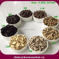 ( 8000pcs/lot ) 2.8x2.3x7mm Flare Copper Micro Beads for Hair-Mix Color OR One-Color 1#, 3#, 5#, 11#, 13#, 8#, 7#, 6#