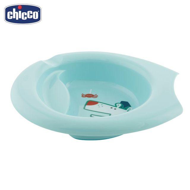 Тарелка детская с разделителем Chicco Easy Feeding, 6 мес.+, розовая