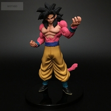 WSTXBD BANPRESTO Original Dragon Ball GT SSJ 4 Goku PVC Figure Toys Figurals Model Kids Dolls