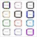 Новая Мода Fitbit Blaze Нержавеющей Стали Рамка Protecter 12 ColorFitbit Blaze Часы Protecter Розовое Золото Серебро Рамка Smart Watch