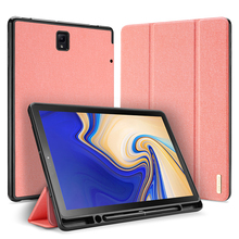 Smart Case Cover For Samsung Galaxy Tab S4 10.5 2018 SM-T830 T835 PU Leather Protective Shell Auto Sleep