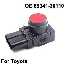 Radar Sensor Car Reverse Parking Sensor For Toyota Red White Black Color 89341-30110 Genuine OEM