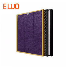 High Efficient Air Purifier Parts Multi-function Screen+Activated Carbon Filter+HEPA Filter for AC4375 AC4372 Air Cleaner