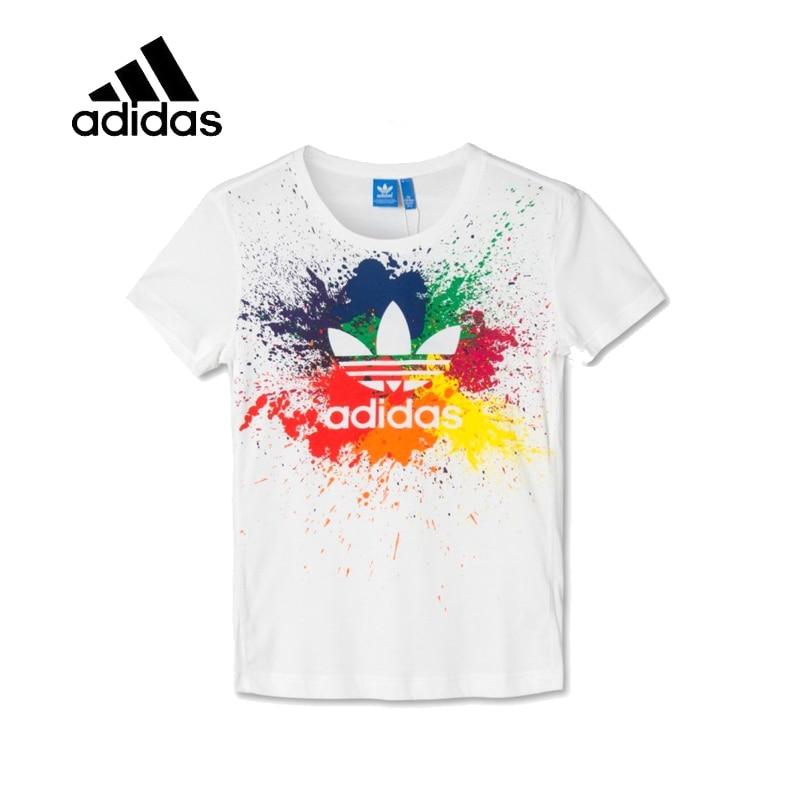 4a4bd203376 Nova Chegada Original Autêntico Adidas Sportswear Lazer Das Mulheres  T-shirt de Manga Curta Feminina. R  144 ...