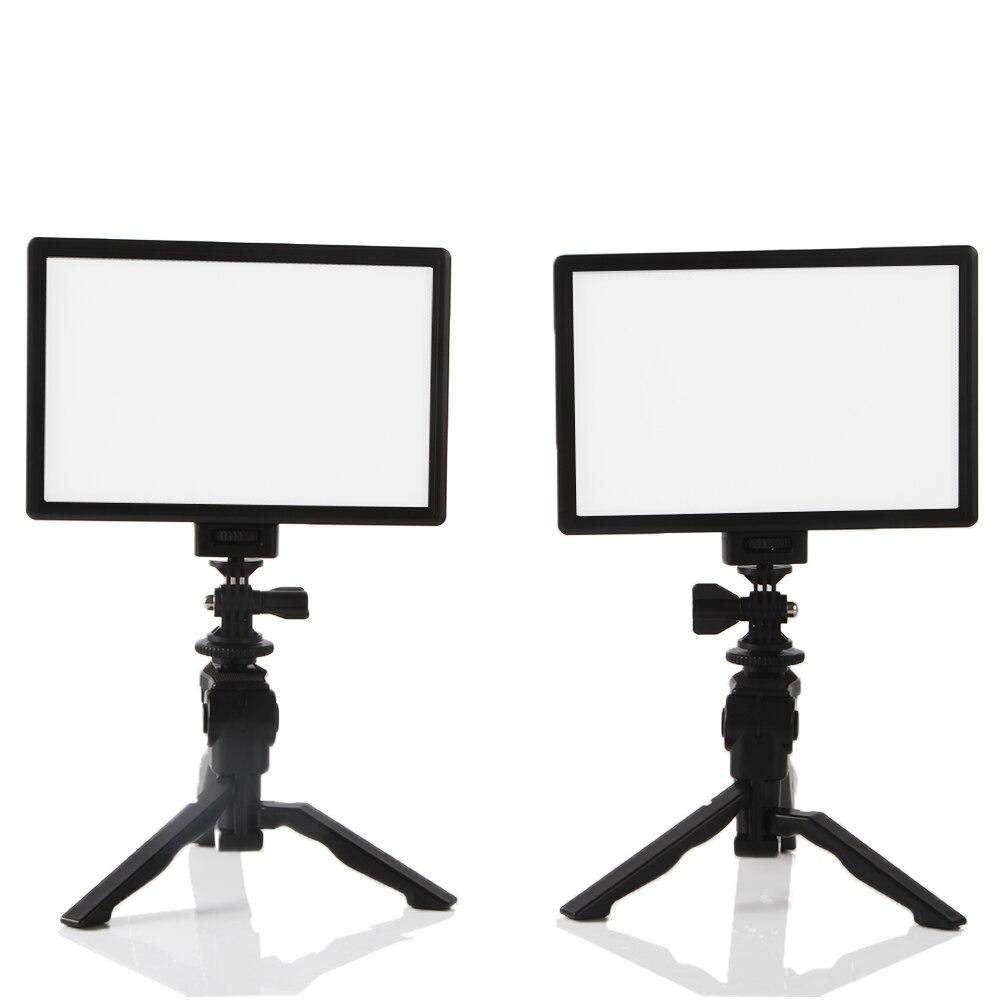 Mesa foto estúdio conjunto 2x viltrox l116t