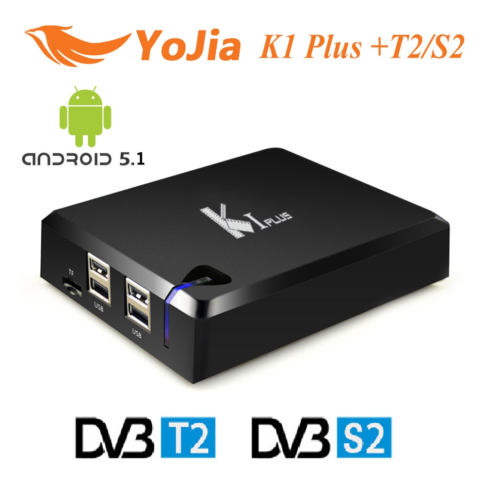 Genuine KI PLUS T2 S2 Amlogic S905 Quad core 64 bit Android TV BOX Support